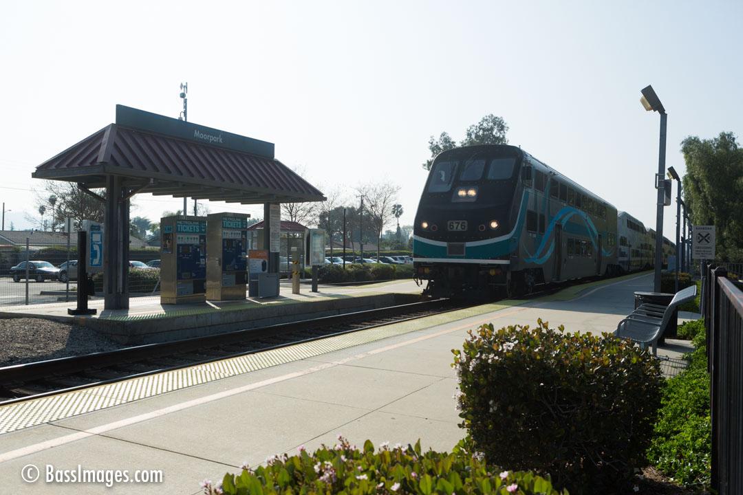 Moorpark Metro station