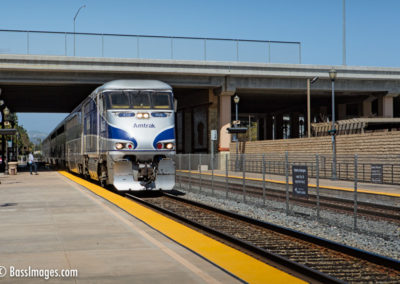 Amtrak departs Camarillo station-1